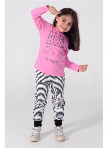 Silversun Kids Kız Çocuk Baskılı Pijama Takım - !Pjm 212969 Lila